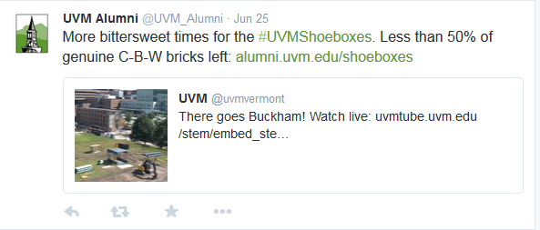Who to Follow @ UVM