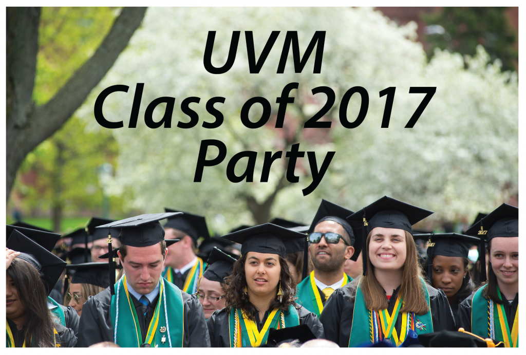 You are Invited to a Party at Alumni House!