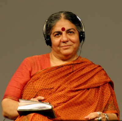GMO debate: New Yorker vs. Vandana Shiva