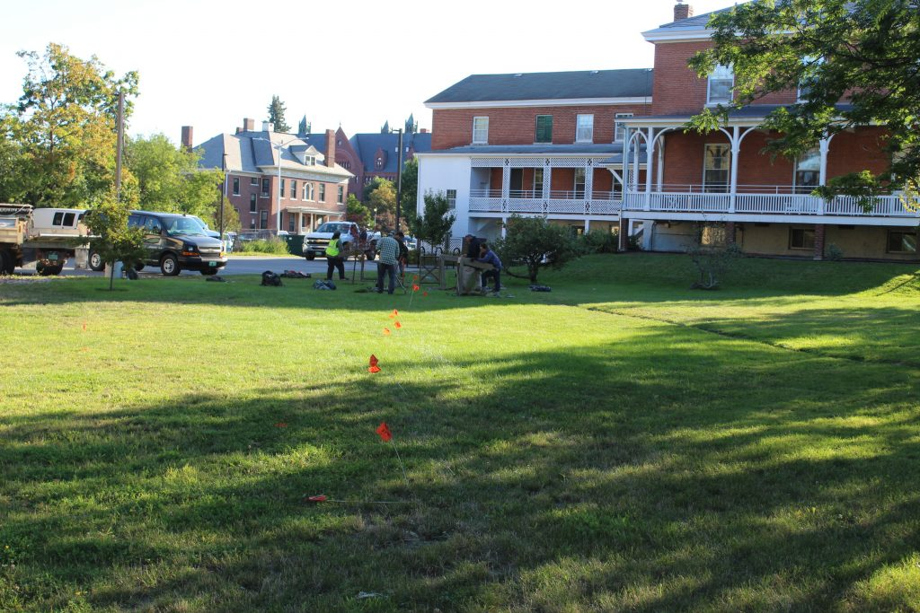 Archaeological Investigation on UVM Campus
