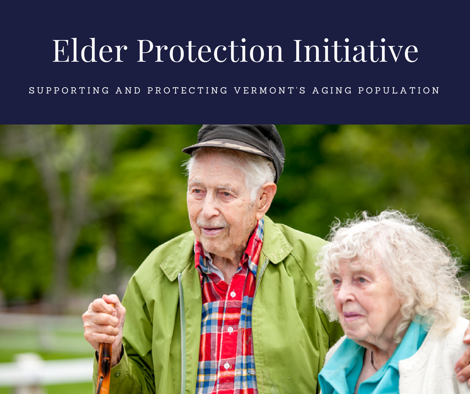 Supporting and protecting Vermont's aging population