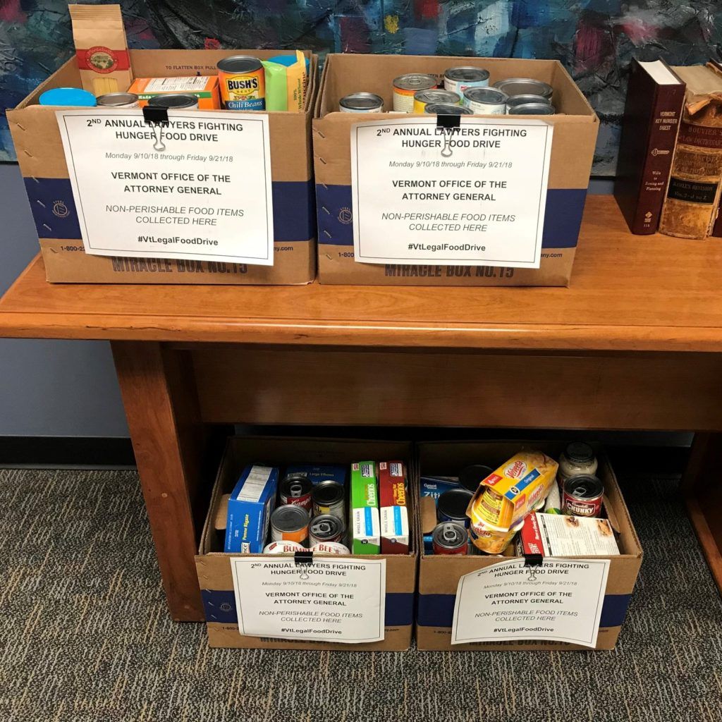 Lawyers Fighting Hunger Food Drive