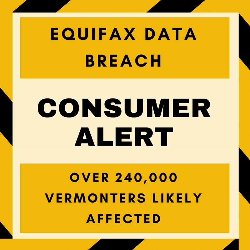 Identity Theft and Information on the Equifax Data Security Breach