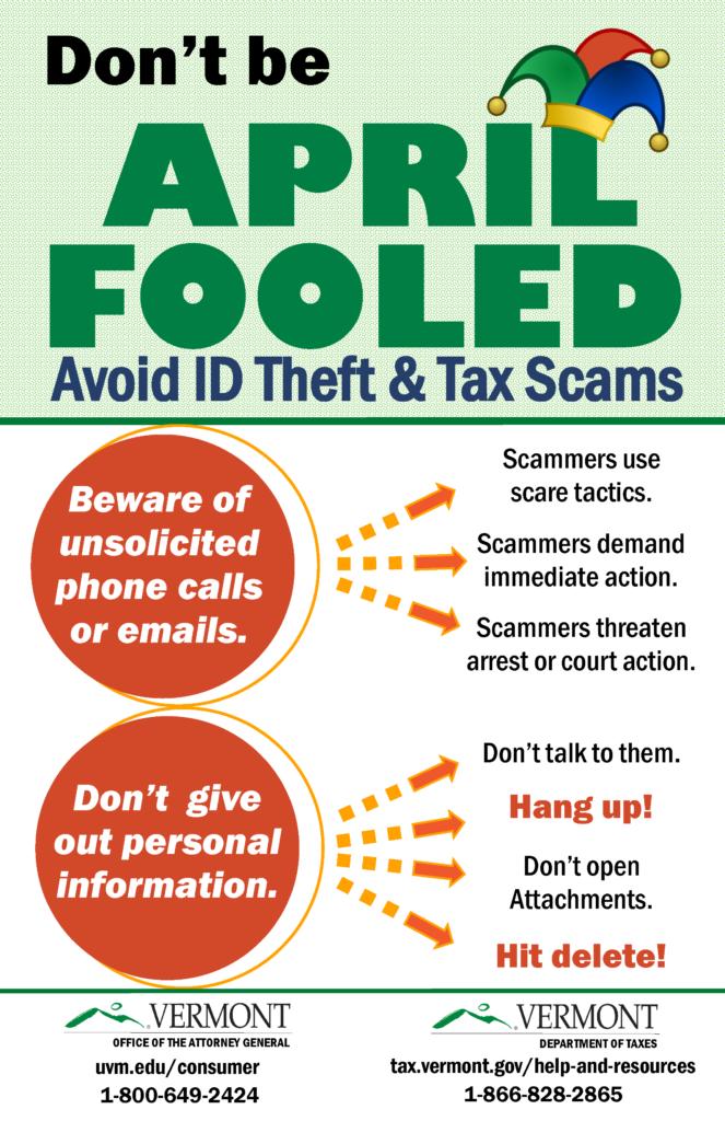 Avoid Scams & Identity Theft this Tax Season