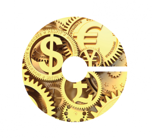 Career Center C logo with international currency symbols