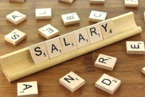 salary scrabble tiles