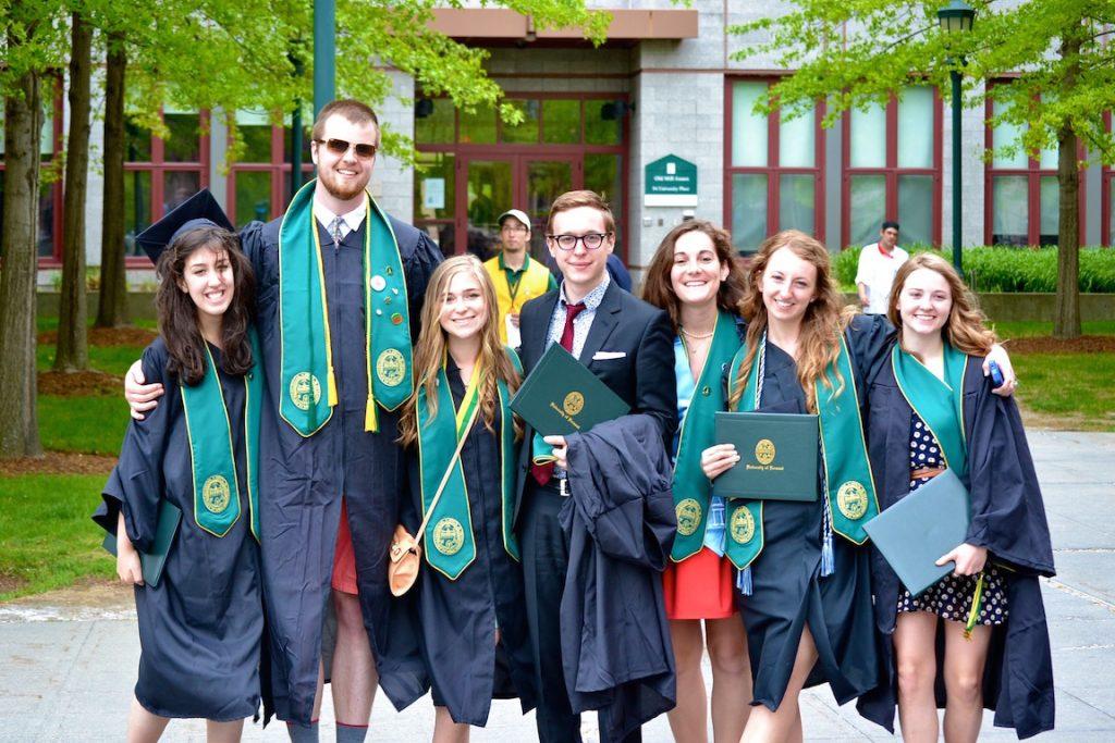 photo of uvm graduation 2013