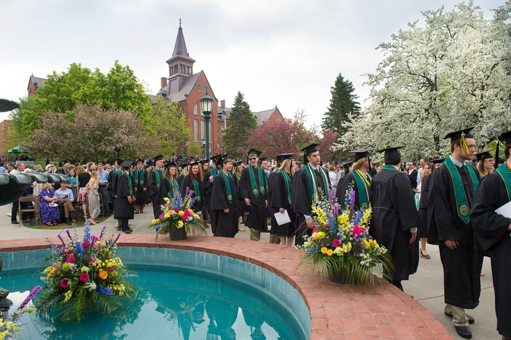 214th Commencement at UVM