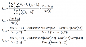 Covariance Equations
