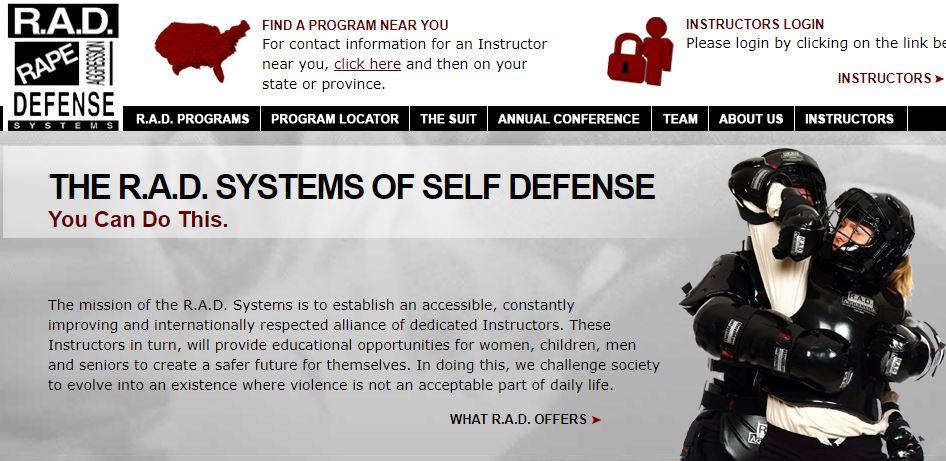 UVM RAD -- Women's Self Defense Class