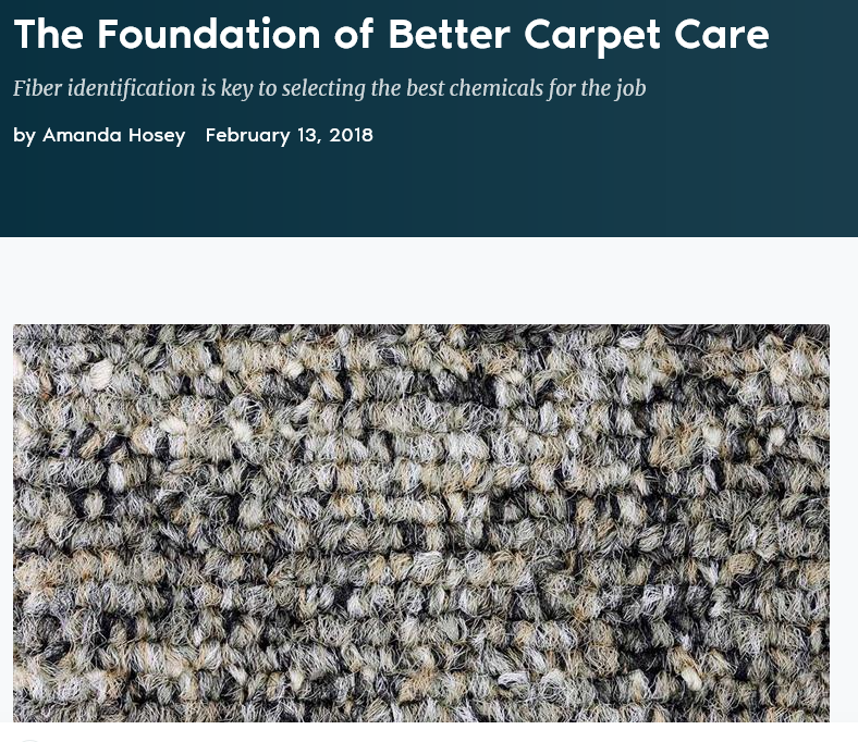 Carpet Care Tips from CMM