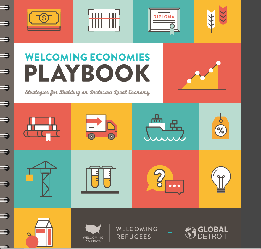Welcoming Economies Playbook and UVM PD&T classes this Fall