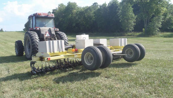 Aeration Tillage