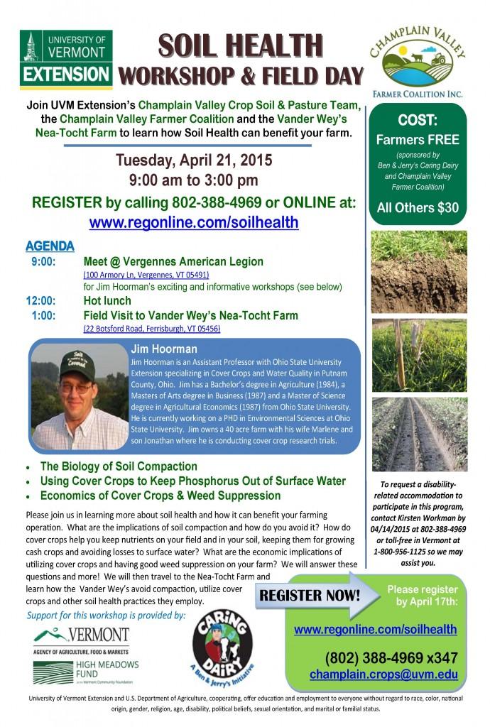 Spring 2015, Soil Health Field Day