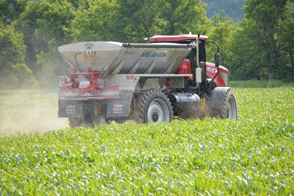 EXPECT TO APPLY NITROGEN DUE TO THE WET WEATHER