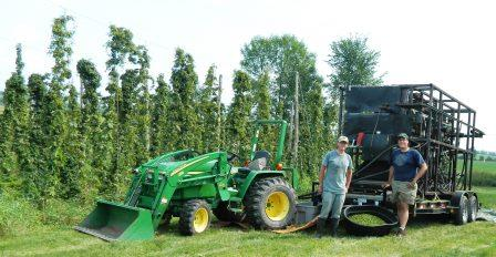 2013 UVM Mobile Hops Harvester Summary