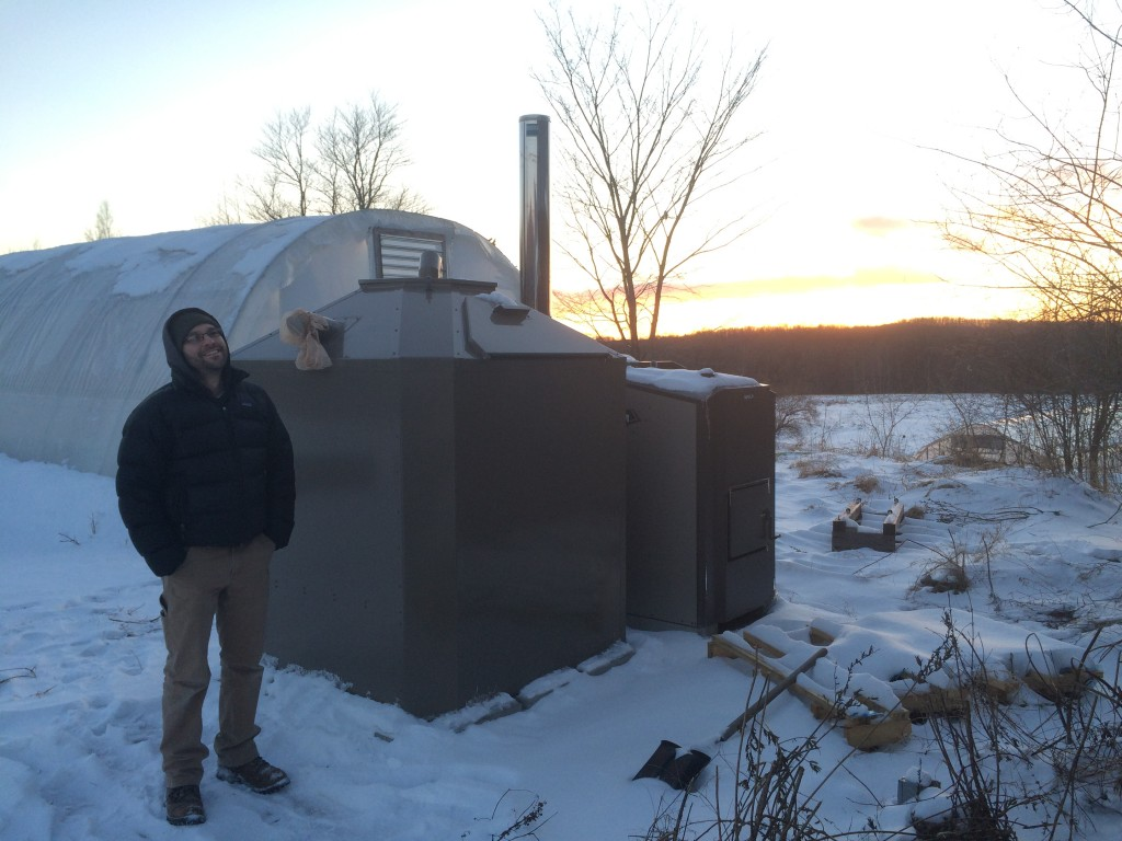 Update on Heating Greenhouses with Biomass