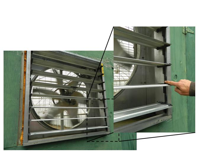 Improved Ventilation for High Tunnels