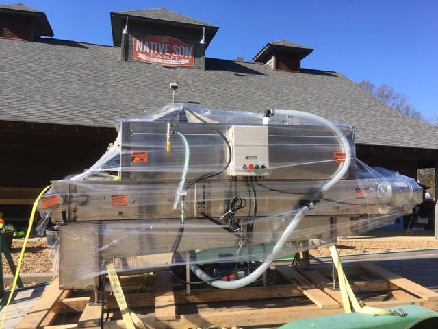 The AZS Rinse Conveyor at Native Son Farm