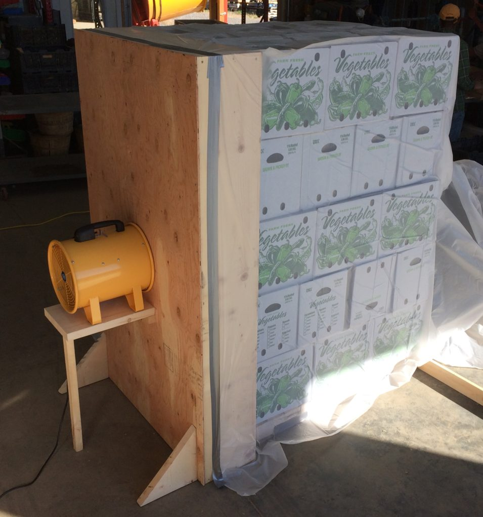 Construction Details for a Pallet Forced Air Cooler