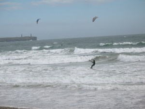 Kite surfing, Tramore, Co Waterford