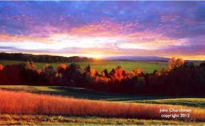 Churchman photo -sunrise