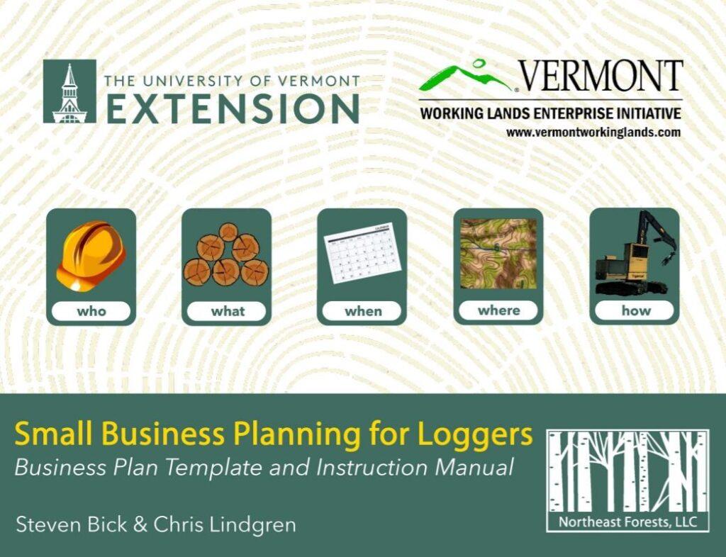 Digital Template Helps Logging Companies Develop A Business Plan     (by Chris Lindgren)