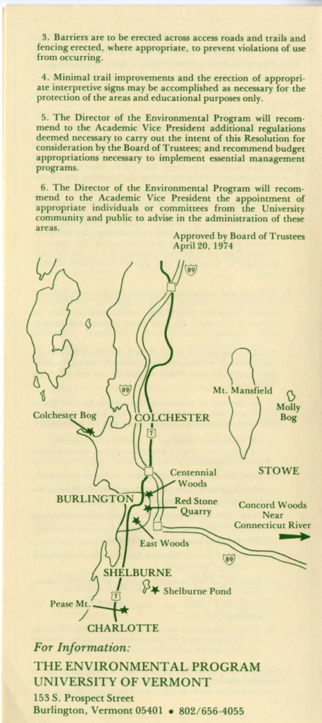 Human History of Centennial Woods