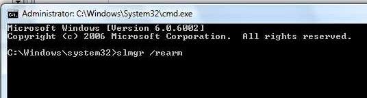 Command line code