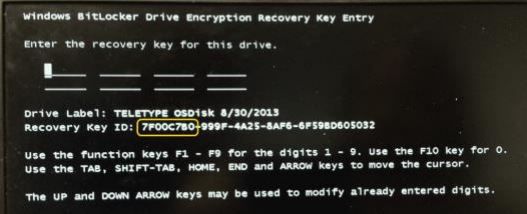 How-to - BitLocker Self-Service Key Recovery3