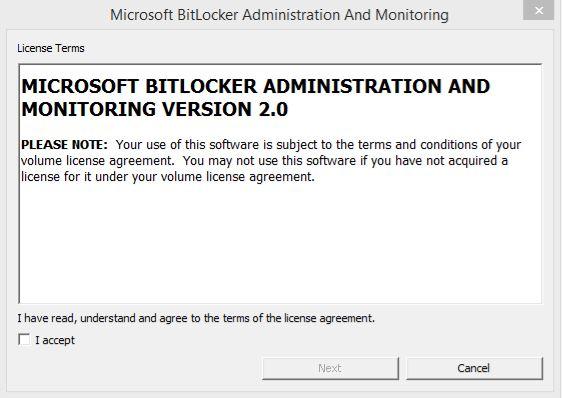 How-to - BitLocker installation1