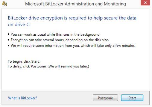 How-to - BitLocker installation2