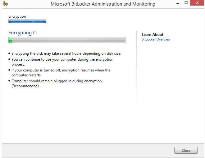 How-to - BitLocker installation3