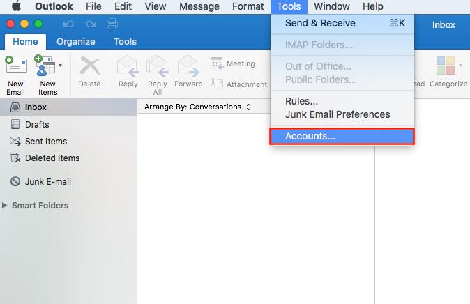 Outlook Mac 1