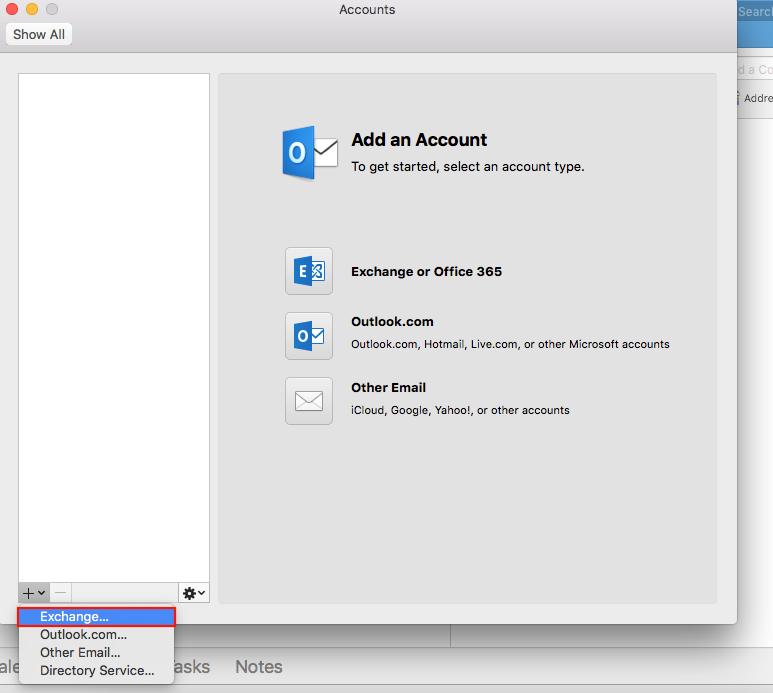 Outlook Mac 2
