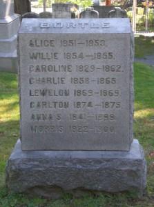 Bortle Family stone