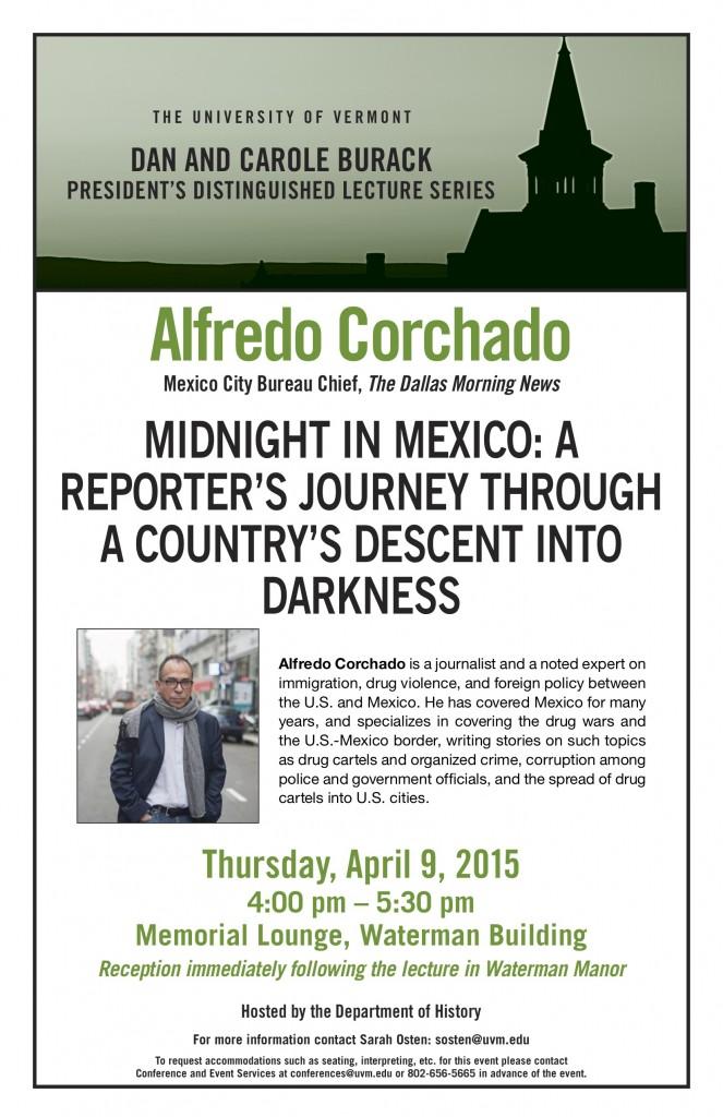 CORCHADO Burack Poster