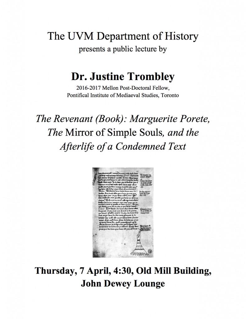 Trombley flyer