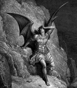 """Depiction of Satan,"" Gustave Doré c. 1868"