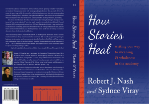 how stories heal cover
