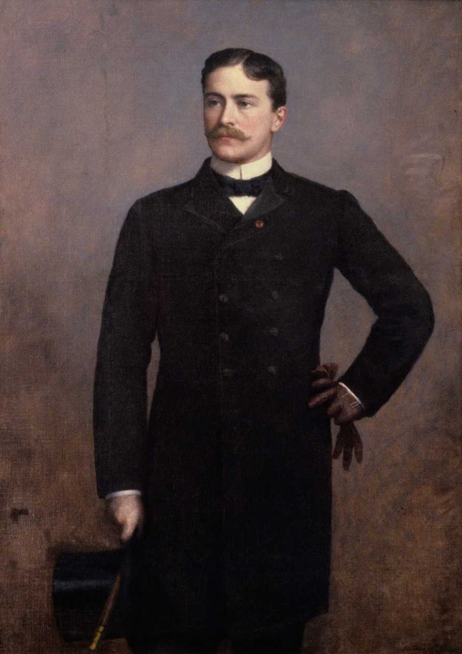 painting of Henry LeGrand Cannon