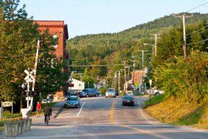 Business District, Richmond, Vermont