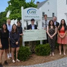 Guilford Savings Bank Scholarship Recipient 2016