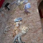 Wall inside Dali museum