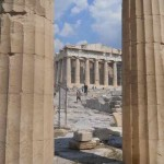 The Parthenon from the Propylaia