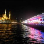 Hagia Sophia and the Galata Bridge