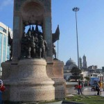 Monument to Attaturk, Father of modern Turkey