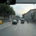 Taking a bus to Sabancı University