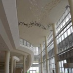 Atrium in performing arts center