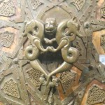 Detail from door